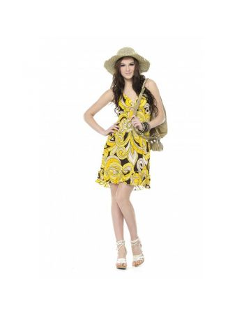 Printed Chiffon Dress